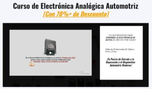 Curso de Electrónica Analógica Automotriz Image